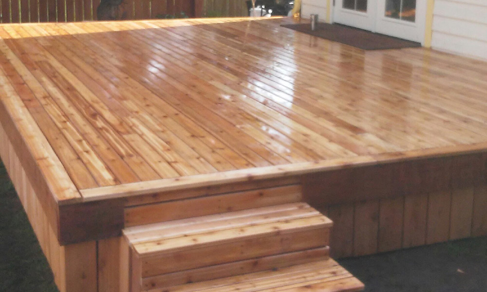 Decking Install Outside Services